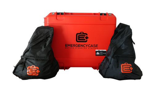 Essential Family & Road 2 Person Bundle - 10 Emergency Kits built into 2 Cases