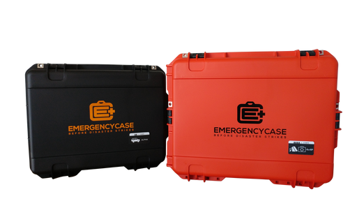 Premium Family & Road 4 Person Bundle - 5 Emergency Kits built into 2 Cases
