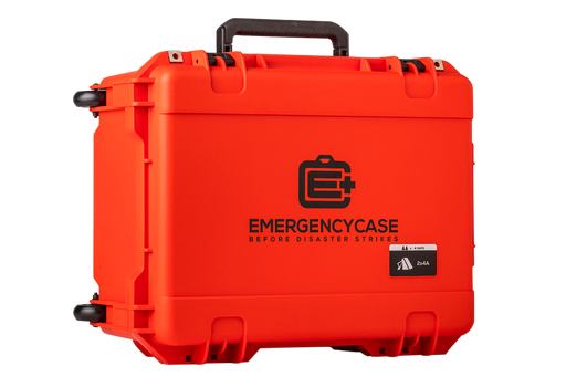 Orange Emergency Case 20 x 15 x 10