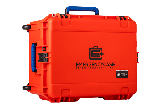Super Durable Emergency XL (Case Only) - Waterproof, Lockable, Wheels, and Handle