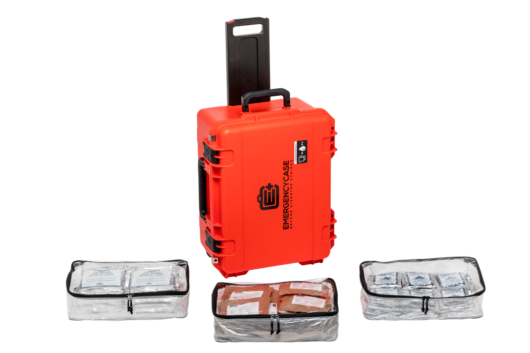 2 Person 15 Days Food and Water Emergency Case