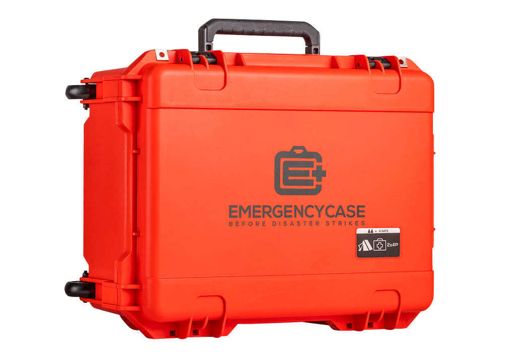 Premium Family 2 Person Case - 5 Emergency Kits built into 1 Case