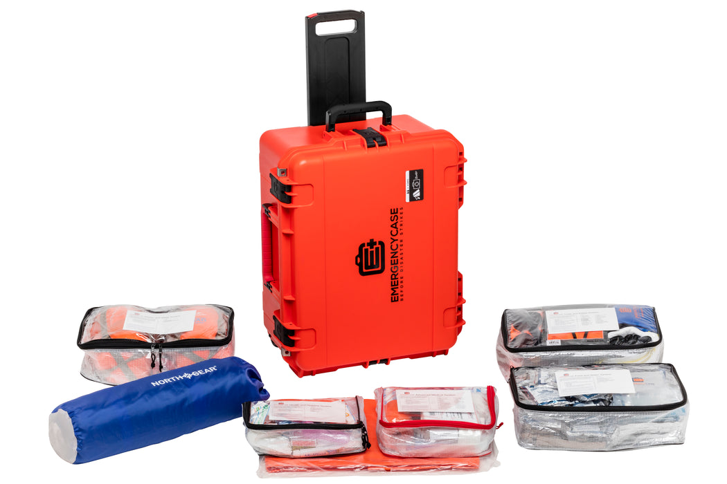 Premium Family & Road 2 Person Bundle - 10 Emergency Kits built into 2 Cases