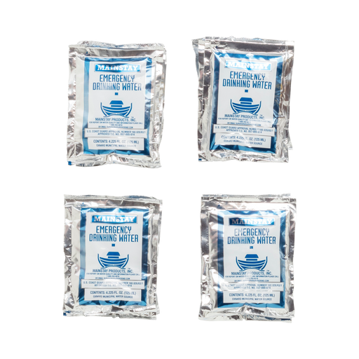 60 Air-Tight Sterilized Water Pouches