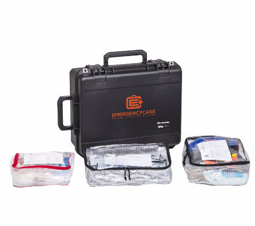 Essential Road Case 2 Person - 5 Emergency Kits built into 1 Case