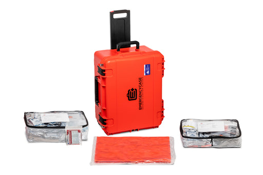 Essential Family 4 Person Case - 5 Emergency Kits built into 1 Case