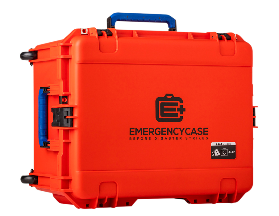 Premium Family 4 Person Case - 5 Emergency Kits built into 1 Case