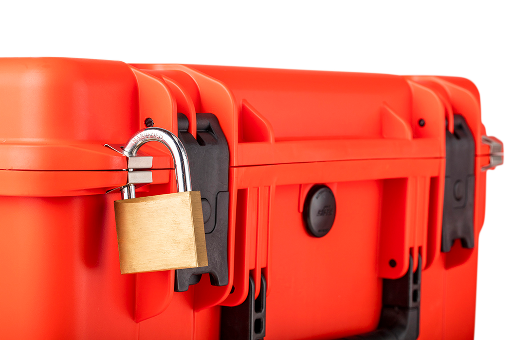 Super Durable Emergency Large (Case Only) - Waterproof, Lockable, Wheels, and Handle