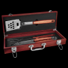 Rosewood Barbecue Set with Tools