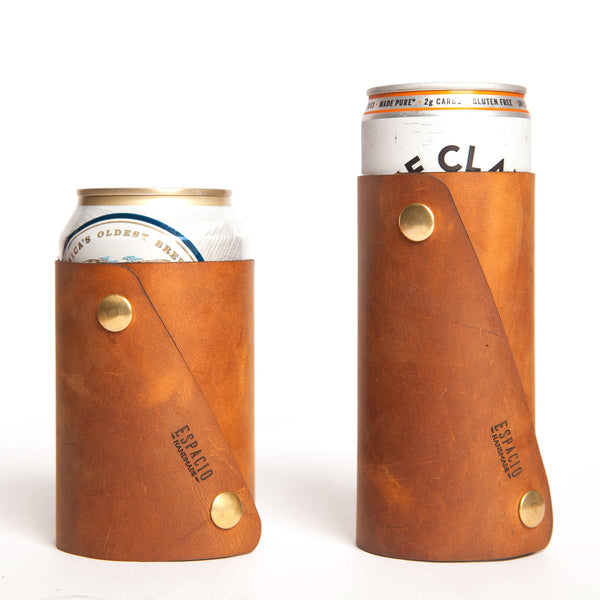 Leather Can Coozie