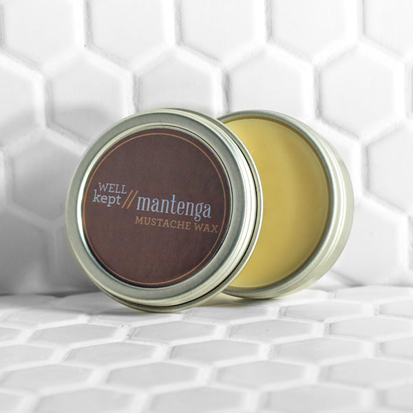 Well Kept Mantenga Mustache Wax