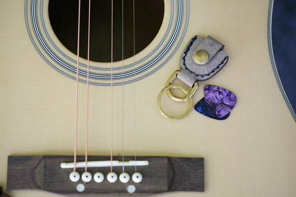 Pick Pocket Guitar Pick Keychain