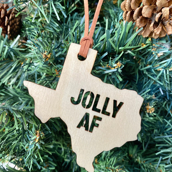 Jolly AF Texas Ornament