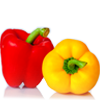 Red & Yellow Peppers