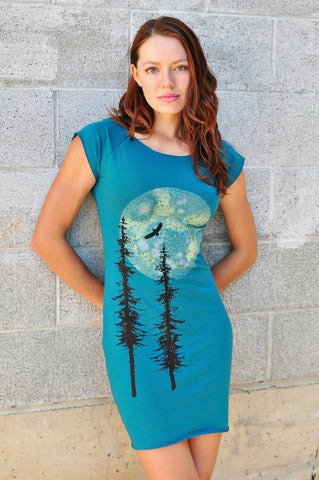 Sitkas in the Moon Light Bamboo Raglan Cut Dress