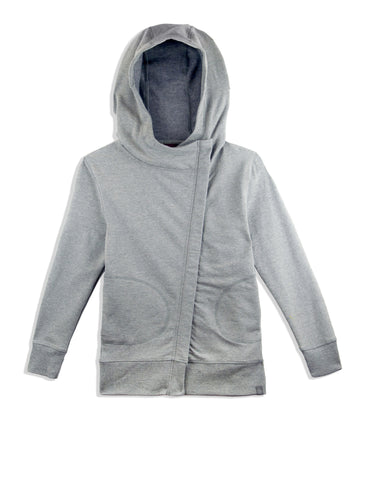 GIRLS STRETCH FLEECE HOODY