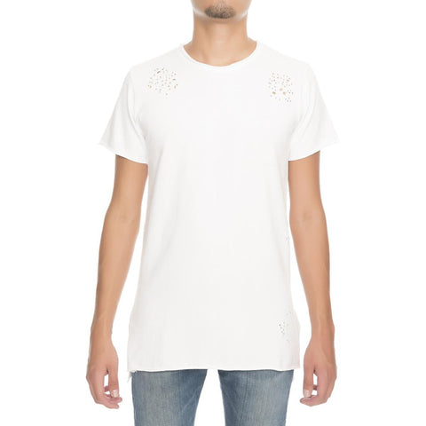 Men's Terry Destroyed Tee
