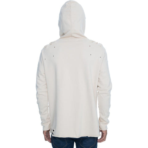 Men's Distressed Hoodie