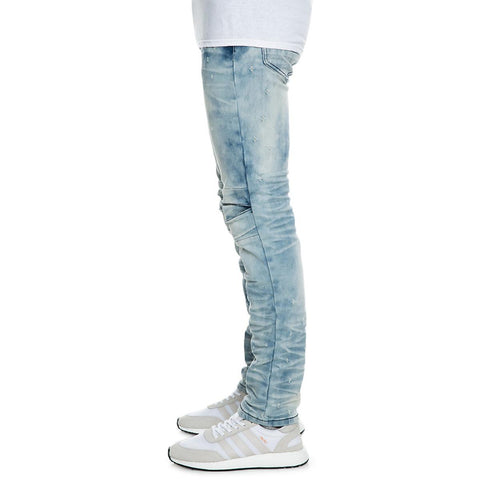 Men's Knee Split Denim Jean