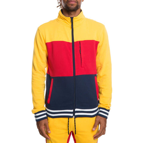 FULL ZIP TRACK JACKET