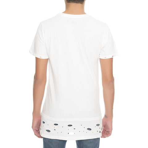 Men's Destroyed Double Tee