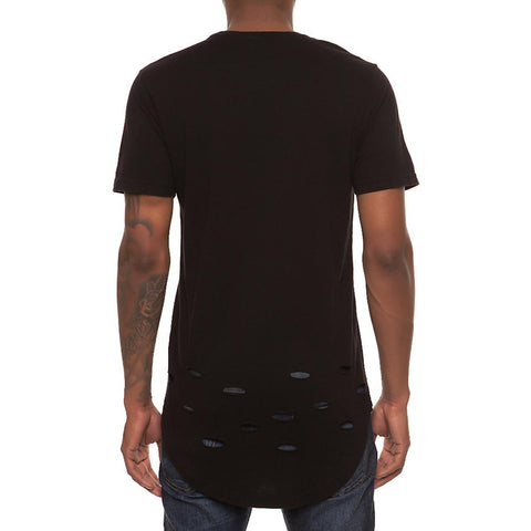 Men's Destroyed Bottom Tee