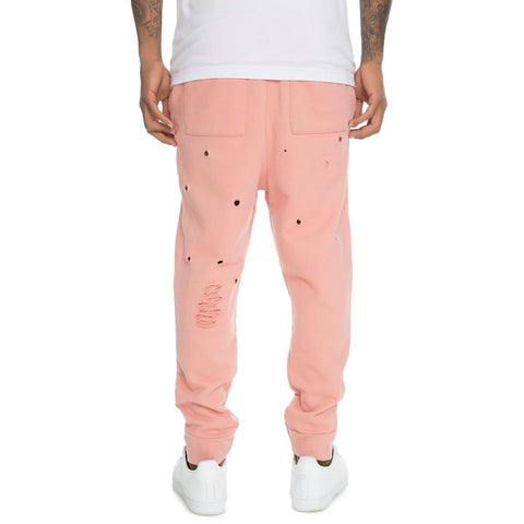 Men's Distressed Joggers