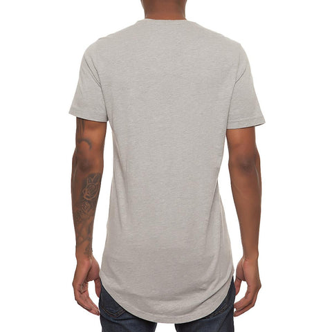 Men's Basic Scallop Tee