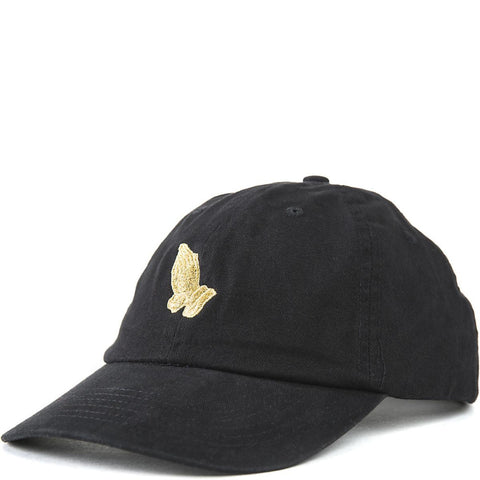 Black Judge Me Strapback Hat