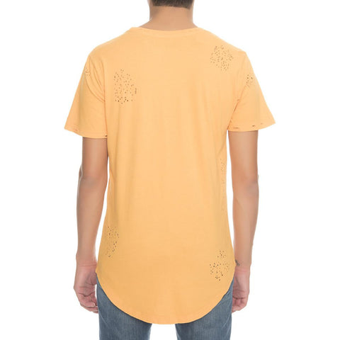 Men's Destroyed Scallop Tee