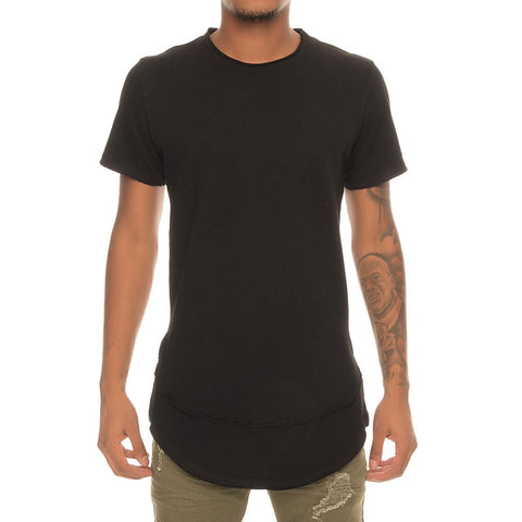 Men's Terry Raw Edge Tee