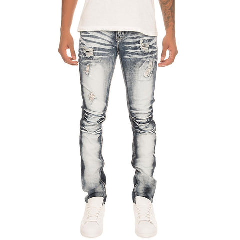 Men's Ripped Denim Jeans