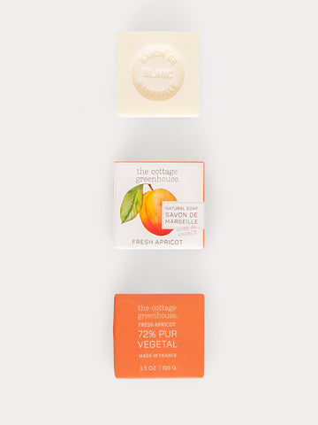 Fresh Apricot French Shea Butter Soap by The Cottage Greenhouse