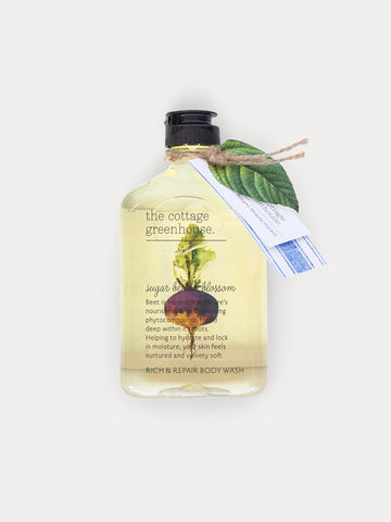 Sugar Beet & Blossom Body Wash by The Cottage Greenhouse