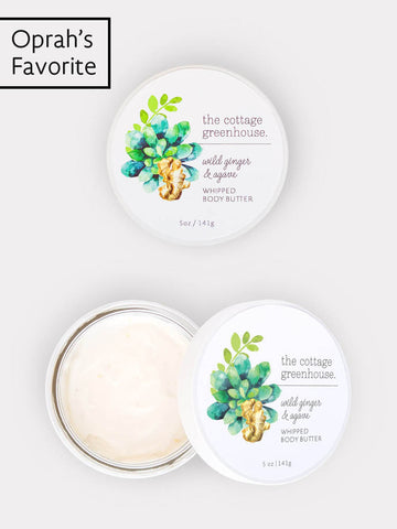 Wild Ginger & Agave Whipped Body Butter