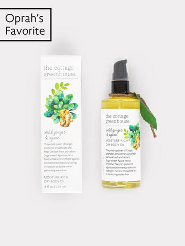 Wild Ginger & Agave Moisture-Rich Dry Body Oil
