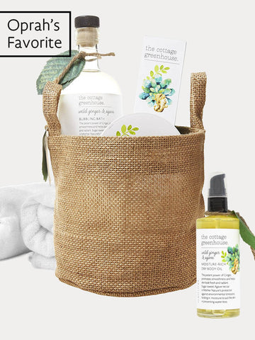 Oprah's Favorite Things 2016: Wild Ginger & Agave Gift Set featuring Body Oil, Sea Salt Body Scrub, and Bubble Bath