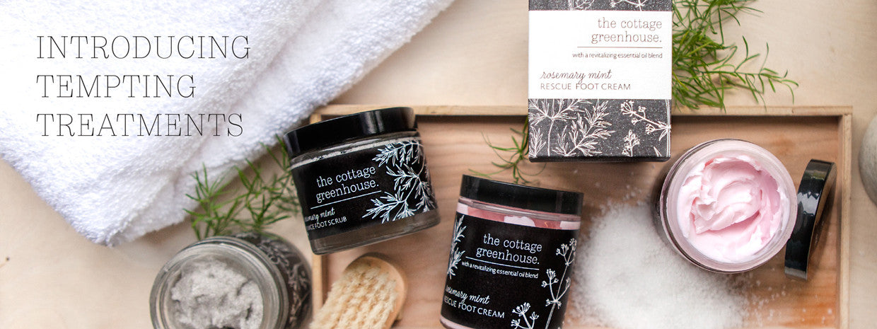 Introducing The Cottage Greenhouse Rosemary & Mint Collection