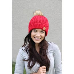 Joy Hat-Red