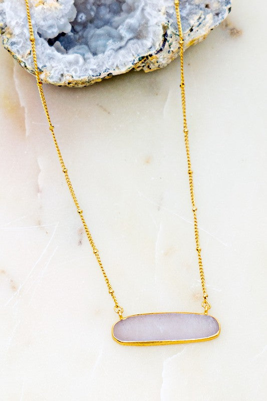 Aurora Necklace-Gry