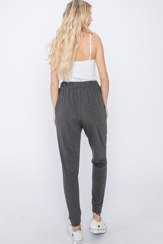 Grey Curvy Lounge Jogger