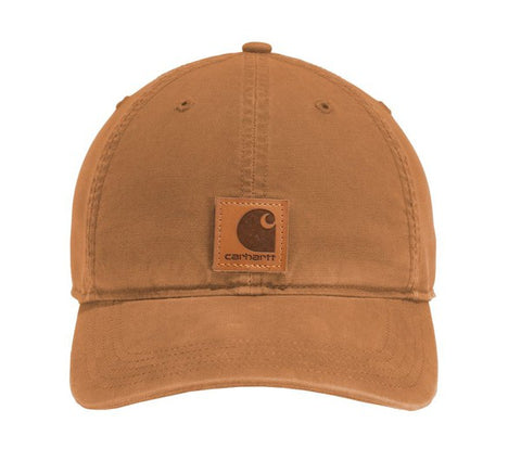 Carhartt Lg Patch Baseball Cap-Brown