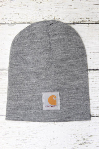 Carhartt Beanie-Heather Grey