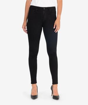 KUT Black Mia High Waist Skinny
