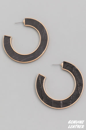 Chic Earrings-Black