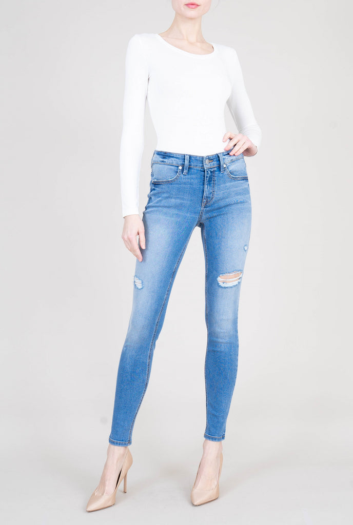 Level 99 Janice Mid Rise Denim