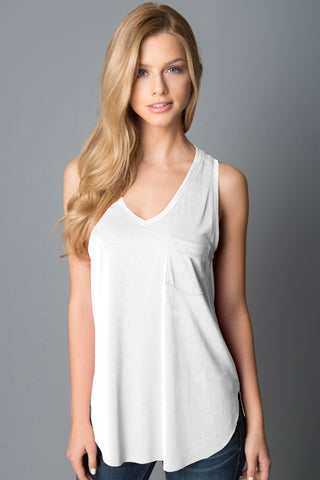 The Esther Tank - White