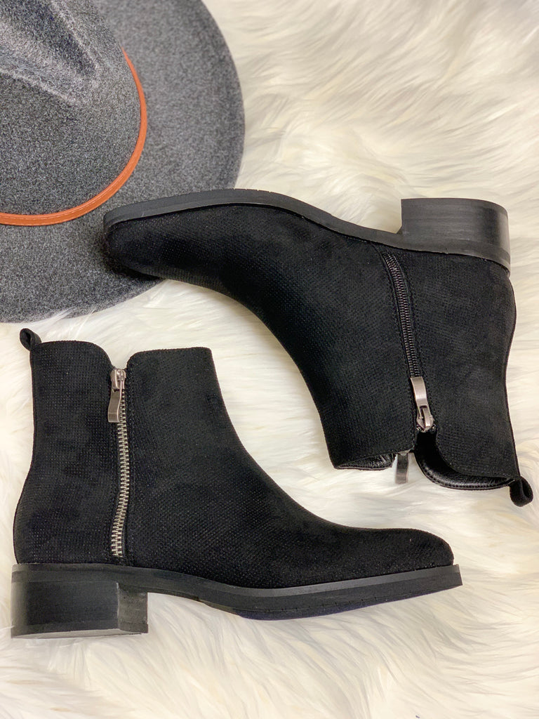 Corkys Neal Black Bootie