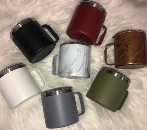 14oz Stainless Steel Coffee Mugs