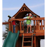 Children's Green Toy Telescope Accessory - WePlayAlot